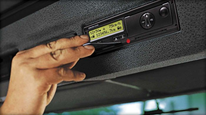Digital intelligent tachograph cards