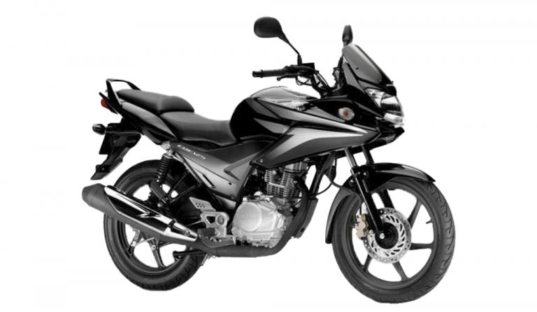 motorcycle Honda CBF 125 black