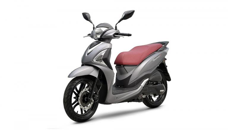 motorcycle Sympony 125 grey